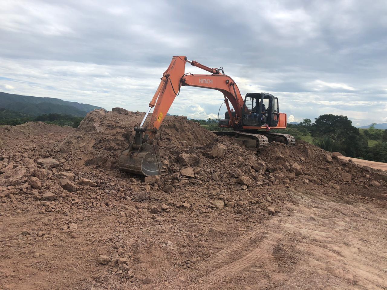 Excavación-mecánica